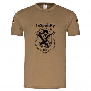 FeSpähKp 100 Fernspähkompanie Wappen Emblem BW Tropenshirt #15040