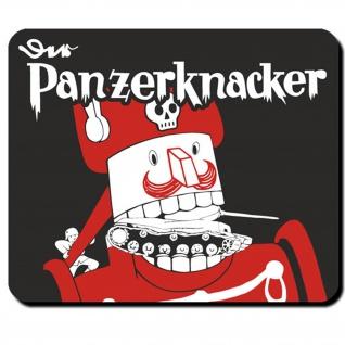Panzerknacker Comicfigur Infanteristische Panzerbekämpfung Mauspad #16574