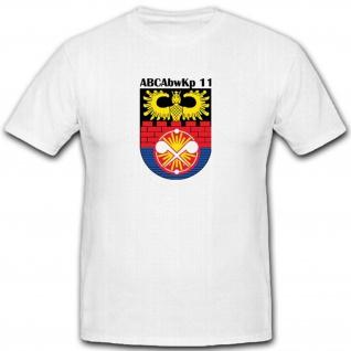 Wappen Abzeichen Atom Bio Chemie Militär Bundeswehr Schutz - T Shirt #3473