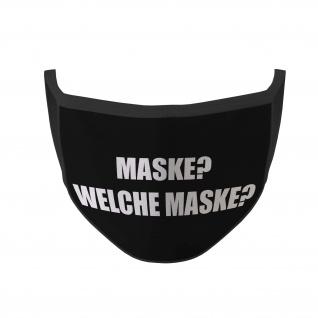 Mundmaske Maske Welche Maske Hunor Fun Spruch Nasen Mund Bedeckung Lustig #35608
