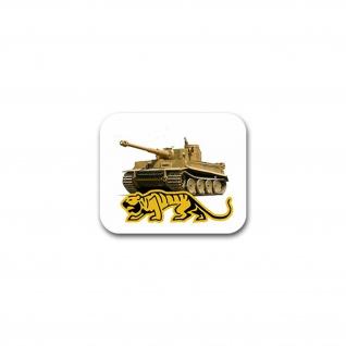 Aufkleber/Sticker Kampfpanzerwagen Panzer Legende Deutschland 9x7cm#A2243