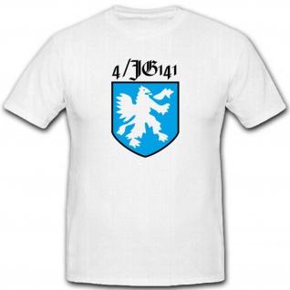 4JG 141 Jagdgeschwader WK Luftwaffe Wappen Emblem Abzeichen T Shirt #2487