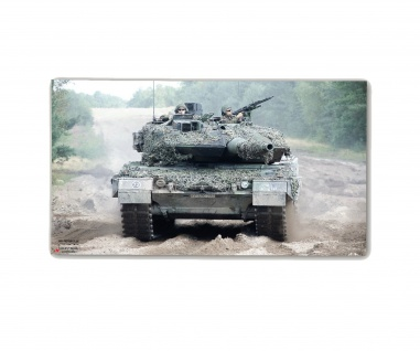 Poster M&N Pictures 4 PzBtl 203 Plakat Panzer-Bataillon Leopard 2 30x17cm#30282