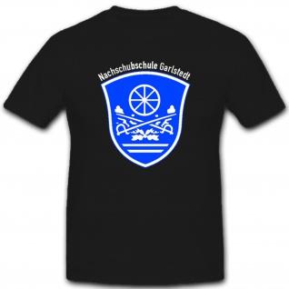 Nachschubschule Garlstedt 2 Bundeswehr BW Deustches Militär Logistik Transport - T Shirt #1560