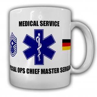 Medical Service Special Ops Chief Master Sergeant Sani Sanitäter - Tasse #15823
