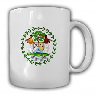 Belize Wappen Emblem Amerika - Tasse Becher Kaffee #13363