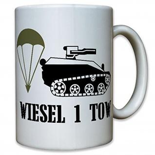 Wiesel 1 Tow Bundeswehr Bund Bw Fallschirmjäger - Tasse Becher Kaffee #10100 t