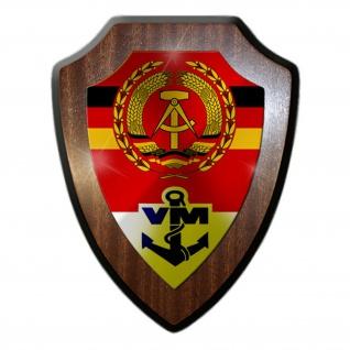 Wappenschild/Wandschild - NVA Volksmarine DDR Seestreitkräfte Deutsche #14917
