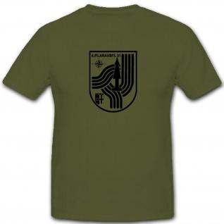 4 FlaRakBtl 21 Bundeswehr Wappen Flugabwehrraketenbataillon - T Shirt #7785
