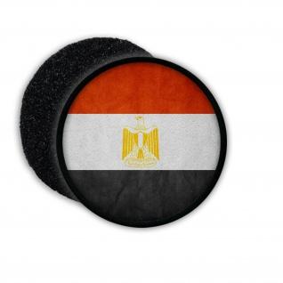 Patch Egypt Ägypten Arabisch Kairo Republik Flagge Fahne Flag Aufnäher #20568