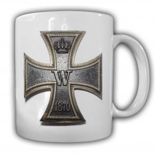 Tasse Kreuz Orden Abzeichen Deutschland Militär Auszeichnung 1870 #21707