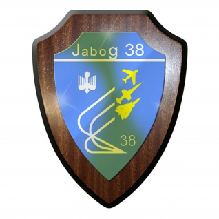 Wappenschild / Wandschild / Wappen - JaboG 38 Jagdbombergeschwader #8372