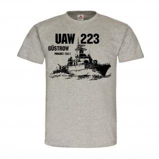 UAW 223 Güstrow Projekt 133 1 Marine DDR Volksmarine Stapellauf Besatzung #24858