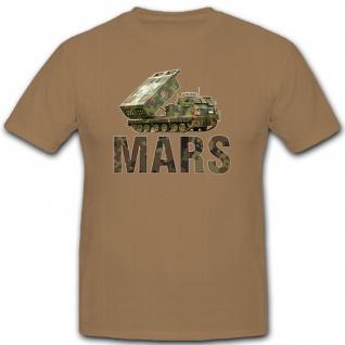 MARS Raketen Werfer Panzer Bundeswehr Deutschland Militär- T Shirt #8147