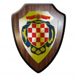 Wappenschild Kroatien Wappen Abzeichen Sahovnica Schachbrett #24939