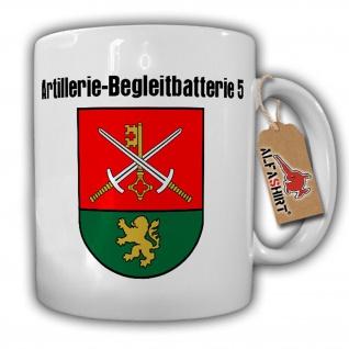 Artillerie-Begleitbatterie 5 BW BglBttr Gießen Wappen Abzeichen - Tasse #17701