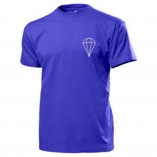 Fallschirm Brust Logo Rundkappe FschJg Fallschirmspringer Falli T Shirt #15437