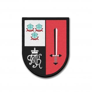 Patch PzBtl 244 Bundeswehr Panzer Bataillom Bund Leopard Landshut Wappen #37400