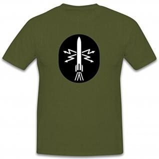 Kanoniere der Luftverteidigung NVA DDR Abzeichen Emblem Rakete Blitze - T Shirt #7905
