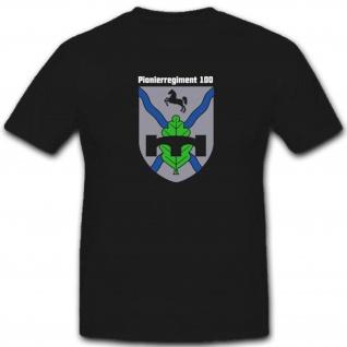 Bundeswehr Wappen Wk Wh Abzeichen Emblem Pireg Pionierregiment - T Shirt #3468