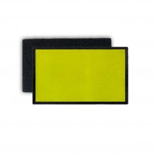 Neon Patch Gelb Farbe Signalfarbe Klett Flausch 75x45m#35919