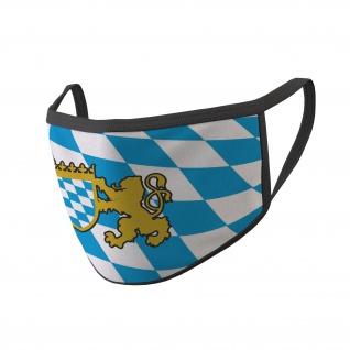 Mund Nasen Maske Bayern München Bayer Raute Wappen Bavaria #35237