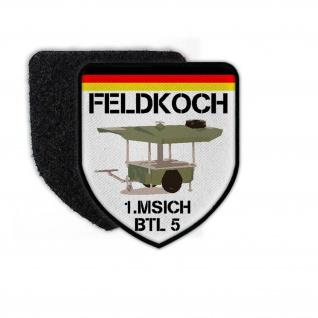 Patch Feldkoch 1 MSICH BTL 5 Bundeswehr Feldküche Bataillon #25667
