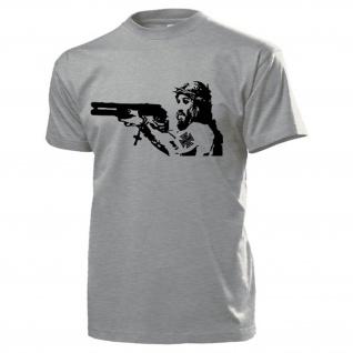 Jesus Christus Christen Messias Sohn Gottes Erlösung Spaß - T Shirt #16318