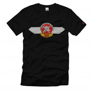 Feuerwehr DDR FFW Vorbildlivhe Freiwillige Wappen Logo Abzeichen T-Shirt #34085