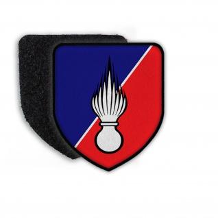 Patch Klett Flausch Rijkswacht Gendarmerie Polizei Wappen Belgien #22443