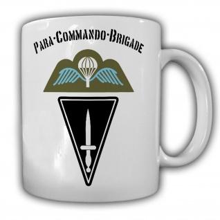 Tasse Para Commando Brigade Belgische Fallschirmjäger Einheit Wappen #13587