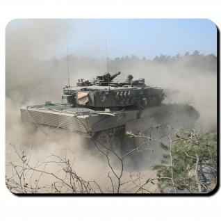 Leo 2 Bundeswehr Kampfpanzer Leopard 2A4 Panzer Bataillon Btl - Mauspad #9775