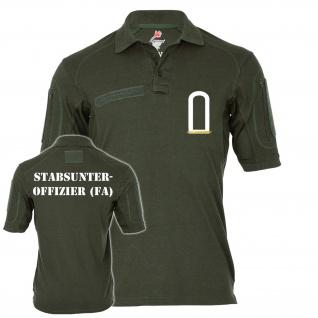 Tactical Polo Stabsunteroffizier FA Stuffz Bundeswehr Feldwebel-Anwärter #21628