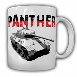 Panther Panzerkampfwagen V Tank WK 2 WW II - Tasse Kaffee Becher #13335
