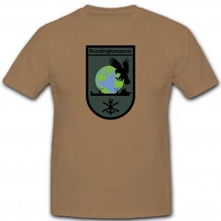 Boardingkompanie Bundeswehr Marine SEK M Deutschland - T Shirt #12596