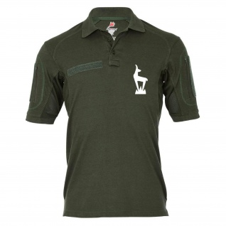 Tactical Poloshirt Alfa - Gams Abzeichen Wappen Emblem Steinbock GebJgBtl #19016