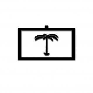 Afrikakorps Aufkleber Palme Afrika Koprs 10x6cm #A5318