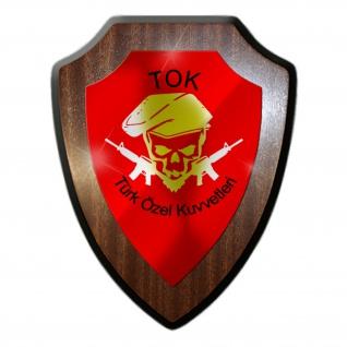 Wappenschild TOK Türk Özel Kuvveter Militär Einheit Türkei Wappen #27044