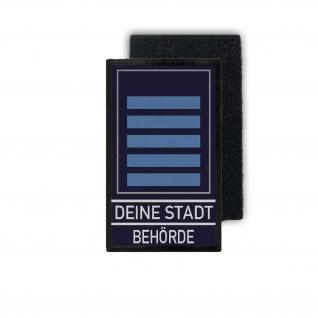 Rank Patch Ordnungsamt Personalisiert Dienst-Grad-Abzeichen Beamter Klett #36336