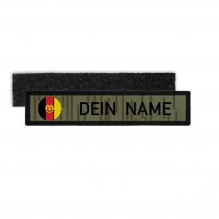 DDR NVA Namenschild Patch Strichtarn Nationale Volksarmee Deutsche #33369