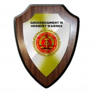 Wappenschild Grenzregiment 15 DDR NVA Wache Deutsche Demokratische Emblem #31525