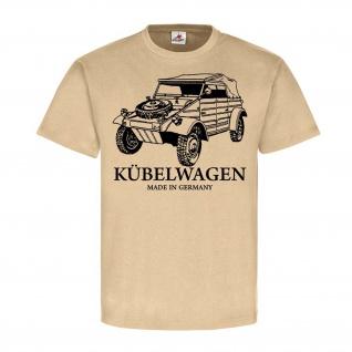 German Kübelwagen Typ82 Kübel Kdf Wagen Auto Oldtimer Kubelwagen T-Shirt#24353