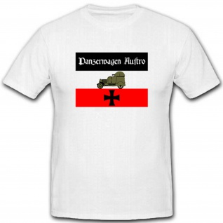 Panzerauto Austro Militär WK Fahrzeug Waffe Heer Preußen T Shirt #2541