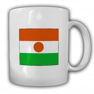 Republik Niger Fahne Flagge République du Niger Kaffee Becher Tasse #13830