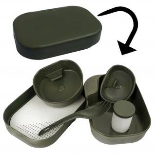 CAMP A BOX Geschirr + Besteck Survival Camping Outdoor Zelten EPA #17137
