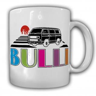 Tasse Retro BULLI Bus Diesel Oldtimer Transporter Auto Kult 80er 90er #7160
