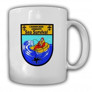 Sea Survival 3 Marineflieger Lehrguppe MFG Marineflieger Abzeichen Tasse #15759