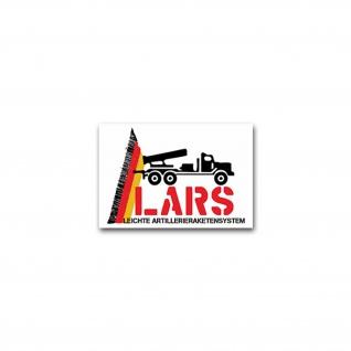 Aufkleber/Sticker Lars Leichte Artillerieraketensystem Artillerie 10x7cm #A2361