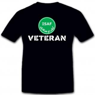 Isaf Veteran Bundeswehr Einheit Wappen Abzeichen Osten- T Shirt #2048