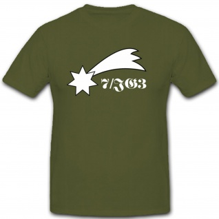 7 Jagdgeschwader3 Militär Einheit Wappen Abzeichen Luftwaffe 7 - T Shirt #1780